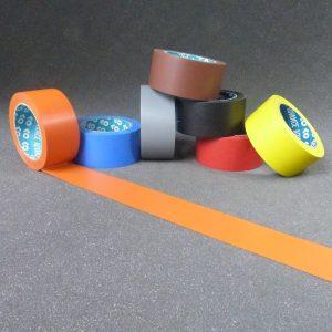 Ruban adhésif PVC couleur, adhésif chantier